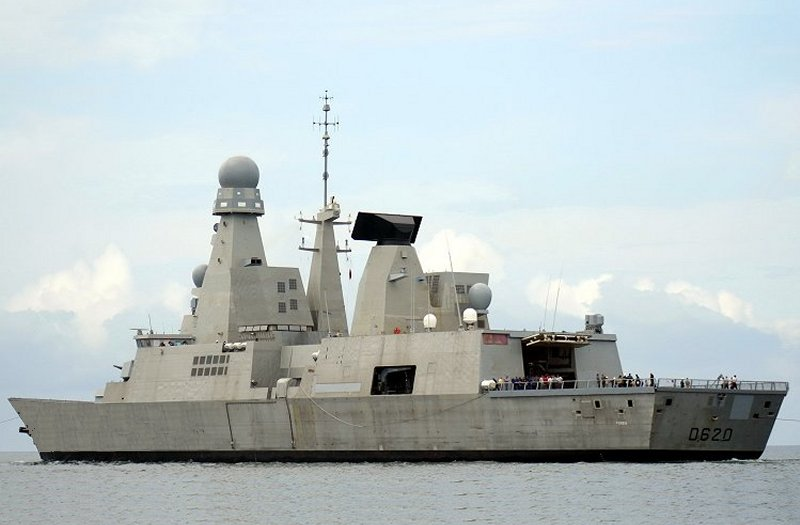 French frigate Forbin (D620)