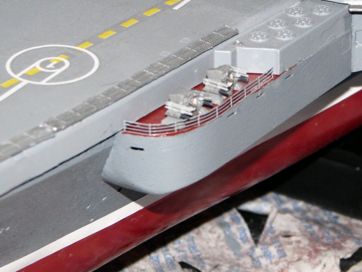 russian cv 063 kuznetsov in 1  350 scale