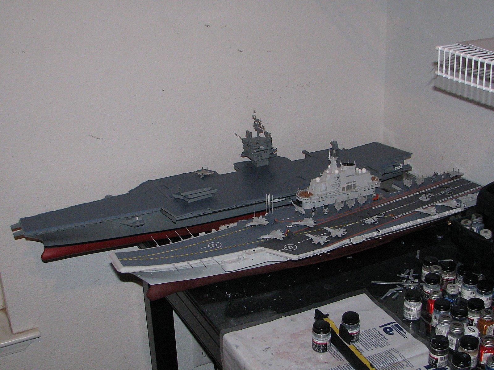 1//350 R//C Running Set  CVN-65 USS ENTERPRISE Aircraft Carrier  Tamiya 78007