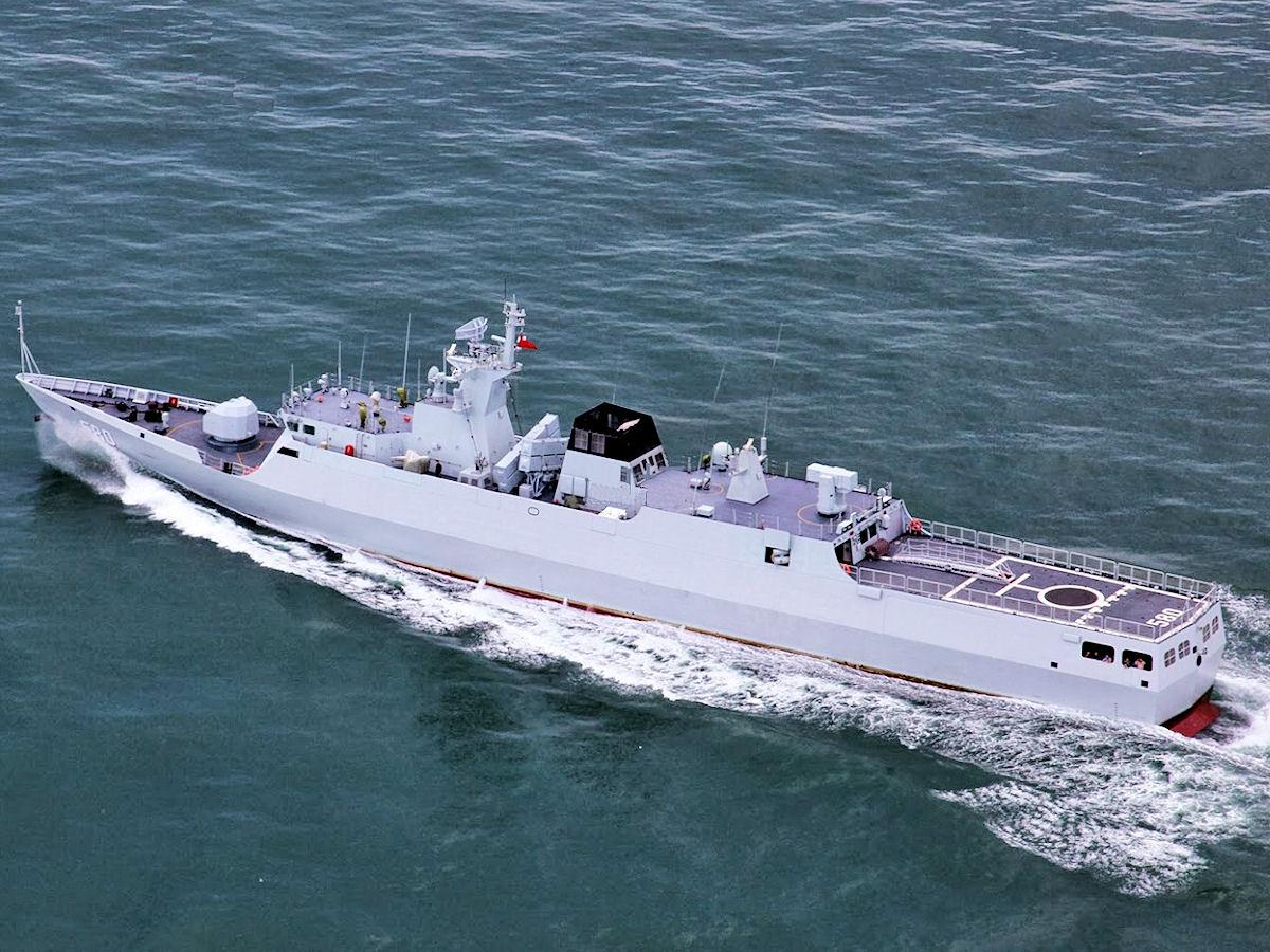 中国海军必须重视对陆打击 - 晨枫 - 晨枫小苑