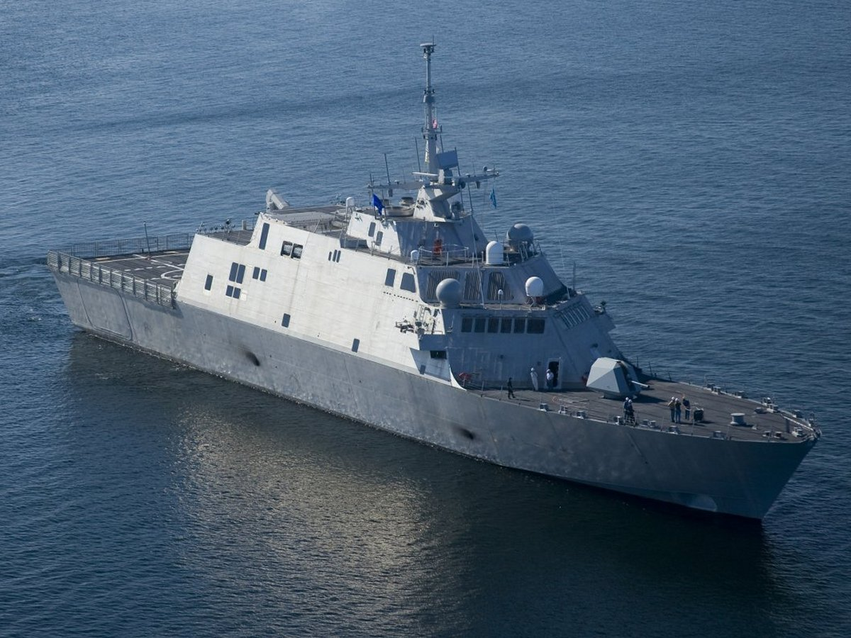 Uss freedom lcs 1 in 1 350 scale trumpeter kit 4549 by jeff head china defence forum - Uss freedom lcs 1 photos ...