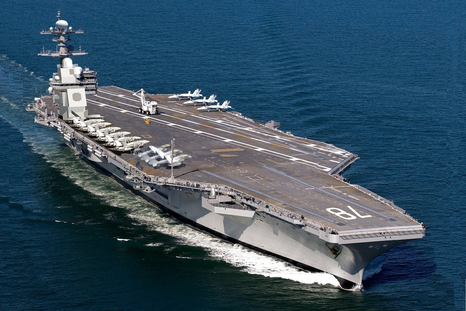 USS Gerald R. Ford, CVN-78, artists depcitions