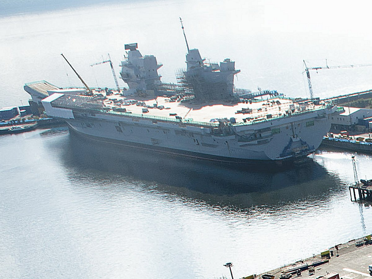 British Aircraft Carrier Queen Elizabeth Google Images
